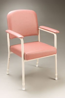 Cq Low Back Orthopaedic Chair Adjustable Height Curved Padded Backrest