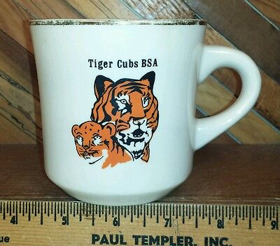 Boy Scouts of America Vintage Coffee Mug for Tiger Cubs