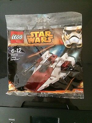 Lego 30272 A Wing Starfighter