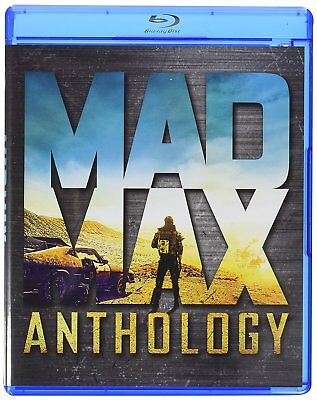 Mad Max Anthology (4 Blu Ray) Quadrilogia Cofanetto Collection Nuovo