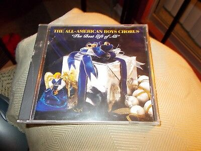 The All-American Boys Chorus Cd The Best Gift Of All Brand New Sealed