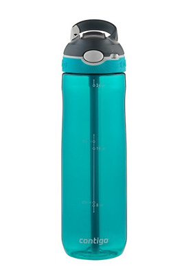 New Contigo Ashland Water Bottle - Iced Aqua