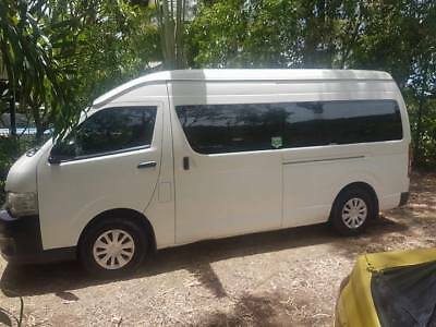 Bus, 14 seater Toyota HiAce 2012, diesel, just 88 k's young, RWC and 28.01 reg.