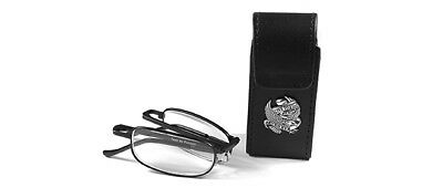 Riders Readers by 7eye Ultimate Folding Reader with super-tough case Black