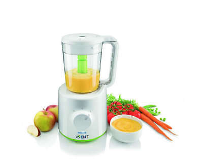 Philips Avent STEAMER + BLENDER 2-in-1 Healthy Baby Food Maker
