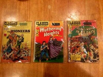 CLASSICS ILLUSTRATED 29 Issue Lot! (1951-1967 Gilberton) Many Great Stories!