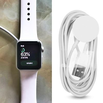 2M Magnetic Charger Charging Cable For iWatch 42/38mm Apple Watch Series New