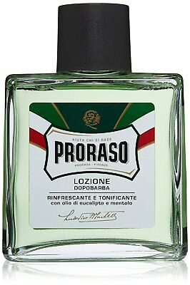 Proraso Green Aftershave Lotion 100 ml