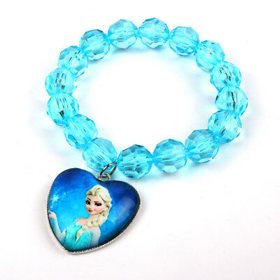 HOT Frozen Armband Die Eiskönigin Bettelarmband  Elsa & Anna Kinderarmband 1pcs