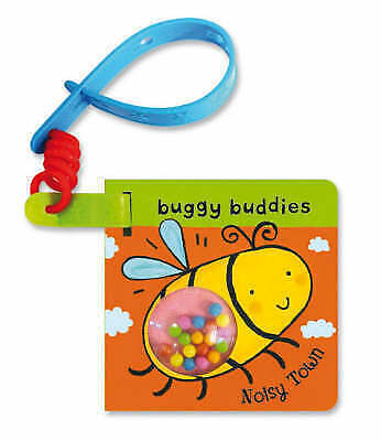 Rattle Buggy Buddies Noisy Town by Pan Macmillan BRAND NEW BOOK (Board book 2009