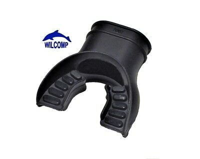 Silicone Mouth Piece for Scuba Diving Regulators & Snorkels WIL-MP-01Bk