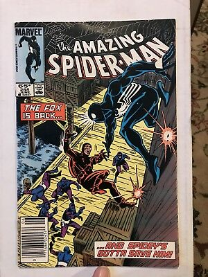 Amazing Spider-Man #265 NEWSSTAND Variant 1st Silver Sable