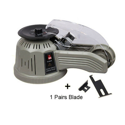 220V Industrial Automatic Tape Dispenser ZCUT-2 /CE 3-25mm Tape Cutters + blade