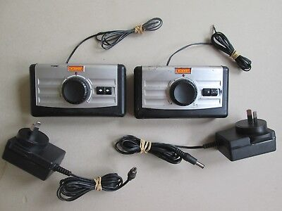 Hornby OO HO transformers & speed controllers x2 for model train railway set GC