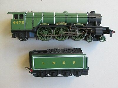 HO OO Hornby Flying Scotsman locomotive 4-6-2 for model train set Issues DCC?
