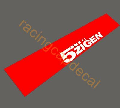 5 zigen Sun Strip Visor Windshield Windscreen Decal Sticker JDM for honda nissan