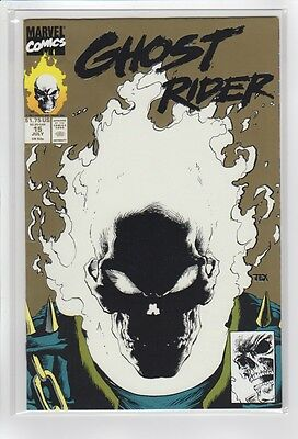 Ghost Rider Vol 2 15 (Marvel Comics 1991) VF+ Gold/Glow cover!!!!