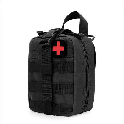 UK Tactical Medical First Aid Kit Bag Zipper Medical EMT Cover Outdoor Molle EMT