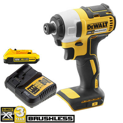 DeWalt DCF787N 18V XR Brushless Impact Driver With 1 x 2Ah Battery & Charger