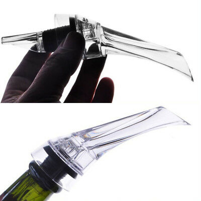 Transparent Acrylic Red Wine Aerator Quick Aerating Pouring KTV Clubs Bar Tools
