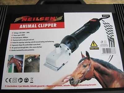 Heavy Duty Electric Horse And Cattle Clippers Animal Clippers Ct2767