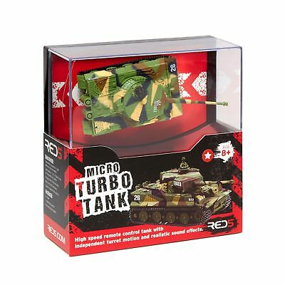 Red 5 Micro Turbo Remote Controlled Tank From Debenhams
