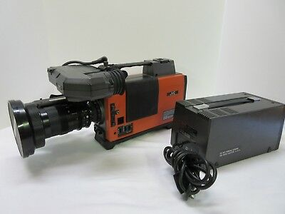 JVC KY-1900CH Professional Video Camera w/case Back to the Future Orange Cosplay