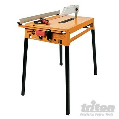 New Triton Circular Saw Table Tcb100 Parallel, Mitre Guides & 240V Switch 330140
