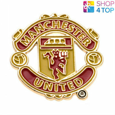 Manchester United Pin Badge Official Football Club Team Fc Button Enamel Crest