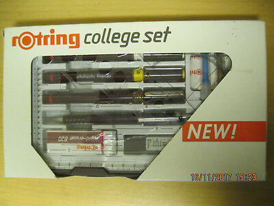ROTRING college set - Art.-Nr. R 155614 --- 3 Tuschestifte, rapidograph