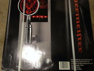Jagermeister Tap Machine NIB Sealed Shotmeister Chilled Man Cave Bar Party Bar