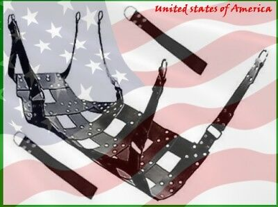 Heavy Duty Leather Adult Sex Swing 100% Play Room Adult Fun SW 3