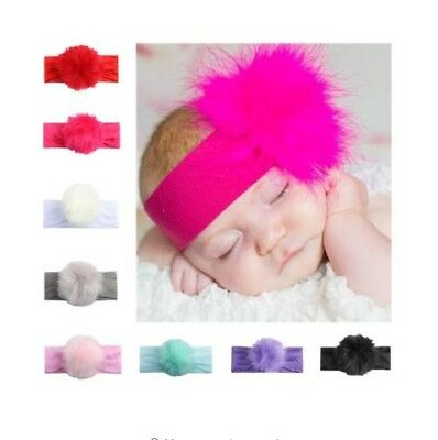 Faux Fur Hair Band Head Band Baby Toddler Photo Prop