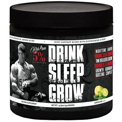 Rich Piana 5% Nutrition Drink Sleep Grow 450g WATERMELON FREE AND FAST DELIVERY