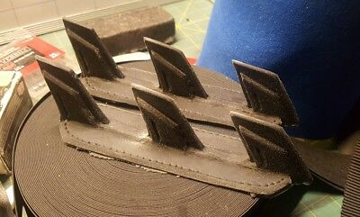 Custom made Arkham Dark Knight Batman Razor Spikes Blade set #1