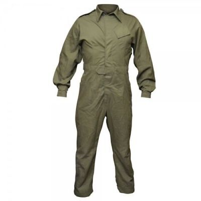 British Army Surplus Olive One Piece Overall Coverall Work Boiler Tank Suit NEW