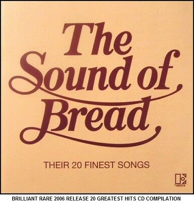 Bread - The Very Best 20 Greatest Hits Collection - 70's Pop CD (David Gates)