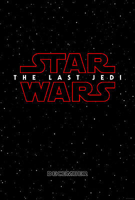 Star Wars VIII: The Last Jedi Teaser Poster, 27x40,Double-sided,Theater Quality