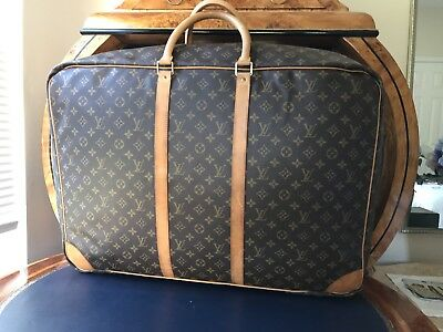 LOUIS VUITTON Monogram canvas Sirius 65 purse suitcase