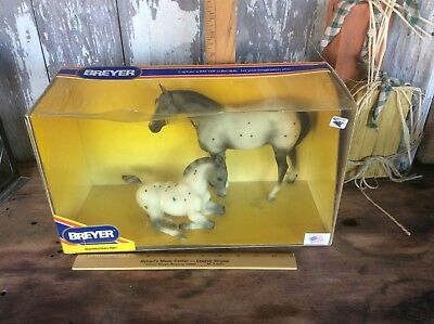 Vintage Breyer Bosley Blue & Trusty , No 942 , In Original Box