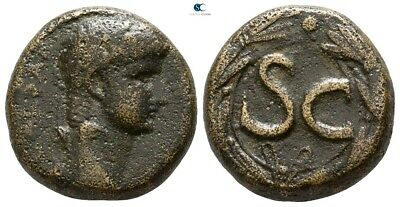 Savoca Coins Seleucis & Pieria Antioch Nero Wreath 8,47 g / 19 mm #SAC2388