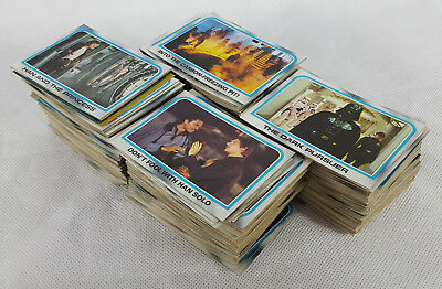 440 + Random Star Wars Empire Strikes Back Topps Trading Cards, Defective Cards.