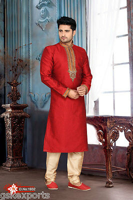 Indian Mens Festival Wear Wedding Wear Ethnic Clothing Bollywood Kurta Payjama