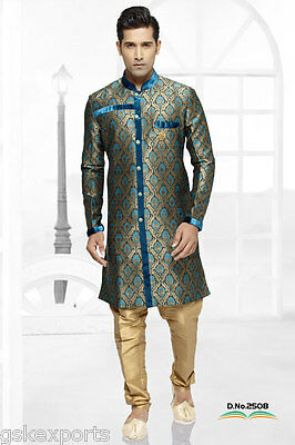 Indian Ethnic Wear Mens Bollywood Wedding Clothing Traditional Festival Dress