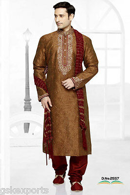 Mens Wedding Wear Pakistani Clothing Traditional Pakistani Kurta Payjama India