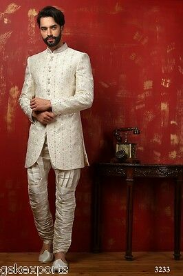 Mens Designer Wear Traditional Bollywood Wedding Indo Western Dress From India