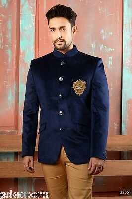 Indian Mens Party Wear Jodhpuri Coat Traditional Mens Ethnic Wear Dress India