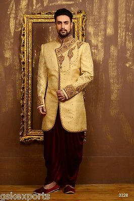 Indian Mens Designer Traditional Wear Pakistani Bollywood Dress From India