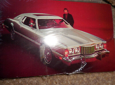1975 Ford THUNDERBIRD Postcards Lot of 50 in unopened pack from Ford