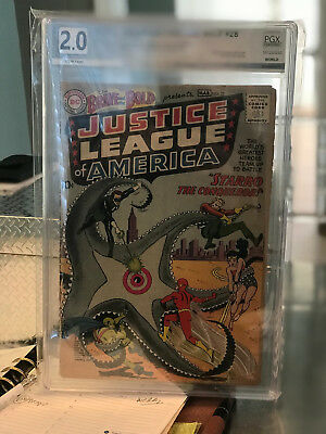 SALE!!!Brave and the Bold #28 PGX 2.0 *1st Justice League* ~Free shippingSALE!!!